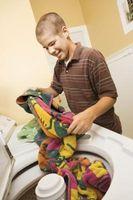 ¿Qué hace del suelo media en la lavadora?