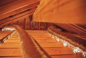 Un olor a madera podrida en un techo
