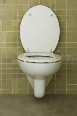 Cómo limpiar las bisagras de un asiento de inodoro