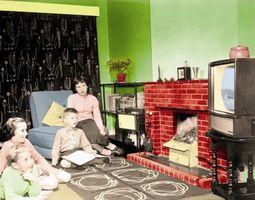 Cómo decorar como si fuera la década de 1950