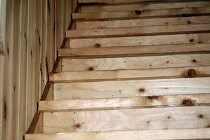 Escaleras de madera bricolaje