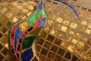 Baldosa mosaico de bricolaje para cuartos de baño