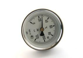 Cómo ajustar una escala ajustable en un termómetro