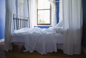 Colores relajantes para rehacer las paredes del dormitorio Con