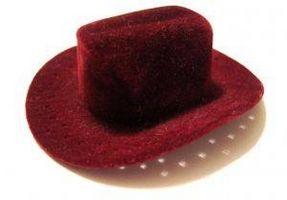 Cómo limpiar Sombreros de cuero