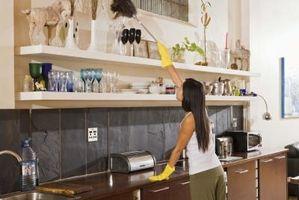 Cómo limpiar una habitación por día