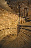 Cómo pintar de escaleras Husillos pareciéndose Hierro forjado