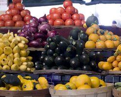 Cómo organizar recipientes para fruta