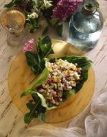 Partes comestibles de una flor