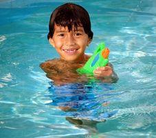 ¿Puedo poner cloro aquí en mi piscina sobre tierra?