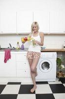 I Am Not usando de alta eficiencia de detergente para ropa en una lavadora de alta eficiencia