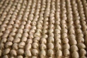 ¿Qué tipo de relleno de alfombras para pisos de concreto?