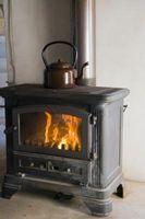 Cómo hacer una estufa de leña queman más eficientemente