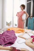 Cómo organizar un armario con vestidos que debe colgar