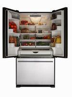 Cómo reducir el vacío de un sello de la puerta del congelador