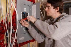 Cómo conectar un interruptor para una agrupación con una caja de fusibles