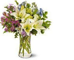Cómo hacer arreglos florales con lirios