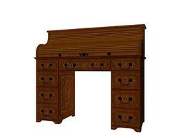 ¿Cómo puedo obtener información sobre los escritorios de madera reales de ordenador?