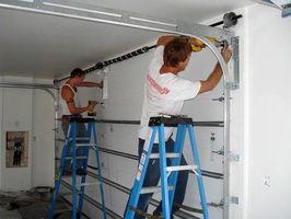 Sustitución de paneles de la puerta de garaje