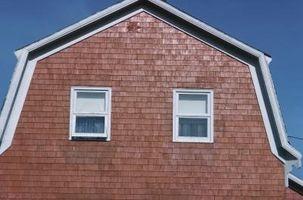 ¿Qué es un Gambrel techo?