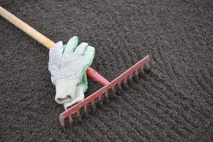 El tratamiento del suelo alcalino