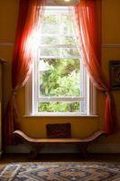 Las Reglas para colgar la cortina de varillas