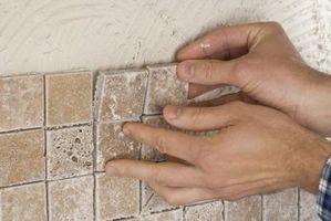 Cómo medir una pared de azulejos