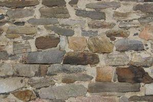Cómo mezclar cemento blanco y arena para hacer blanco mortero utilizado para la construcción de viviendas de piedra