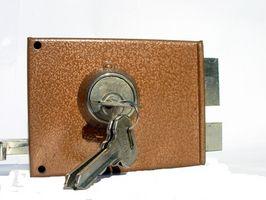 Cómo corregir un cerrojo de seguridad