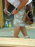 Herramientas de la carpintería utilizadas para medir ángulos rectos