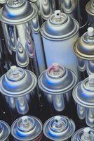 El uso de aerosoles en acrílico Fregaderos