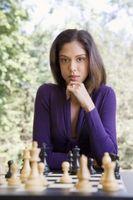 Cómo pintar una tabla de tablero de ajedrez