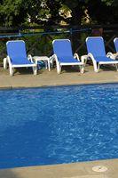 Diferencias entre la piscina de cloro y blanqueador de cloro
