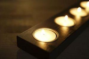 Cómo limpiar metal vela moldes con WD40