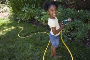 Cómo regar las plantas con agua de pozo