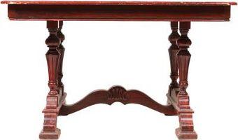Cómo Refinish una mesa de caoba