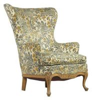 Do-it-yourself Wingback Presidente reupholstering