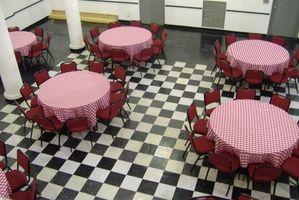 Cómo pintar un piso de tablero de ajedrez