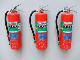 Definición de los marcados de Extintores