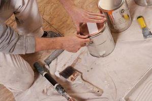 Cómo estimar una casa Pintura de empleo