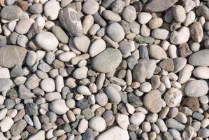 El mejor tipo de roca de grava para jardinería