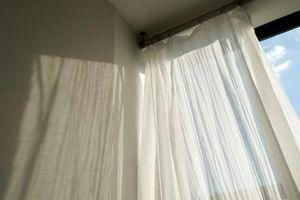 Cómo hacer cortinas para una oscilación hecho en casa del Brazo