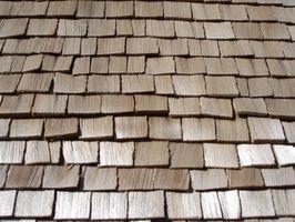 Tipos de tejas de madera