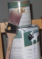 Cómo pintar una chimenea de ladrillo rojo viejo