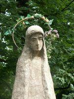 Cómo hacer un hormigón estatua del jardín