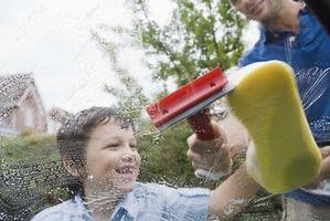 Limpieza de ventanas Herramientas