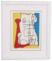 Cómo colgar pinturas abstractas