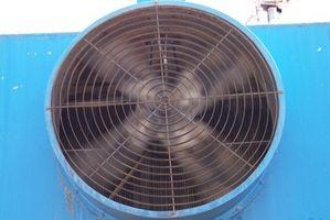 Vs. ventilador de la torre Ventilador regular
