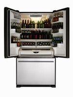 Cómo instalar y ajustar un refrigerador Termostato