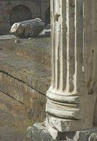 DIY decorativo griega o columnas romanas